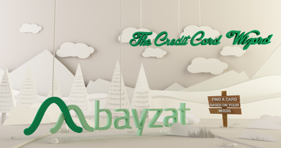 Announcing the Most Accurate Way to Find the Best Credit Card from Bayzat!